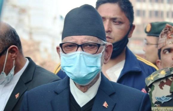 PM Koirala Participates In Debris Removal Campaign
