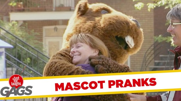 Best Mascot Pranks – Just for Laughs