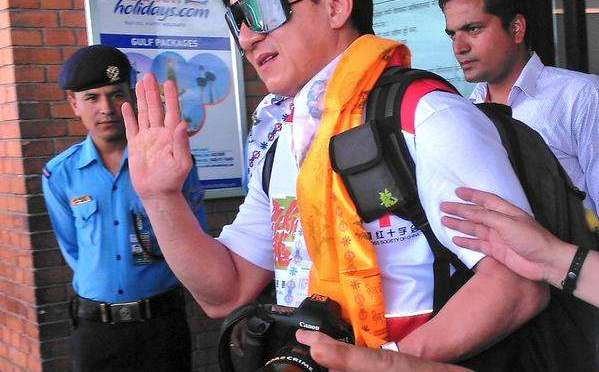 Jackie Chan In Nepal For Earthquake Relief
