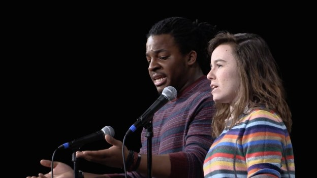 When A Black Man And A White Woman Speak For Each Other