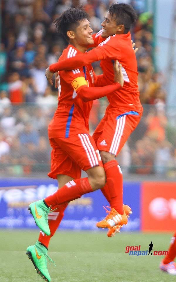 Nepal u19 Vs Bhutan U19 Bimal Gharti Magar GoalNepal