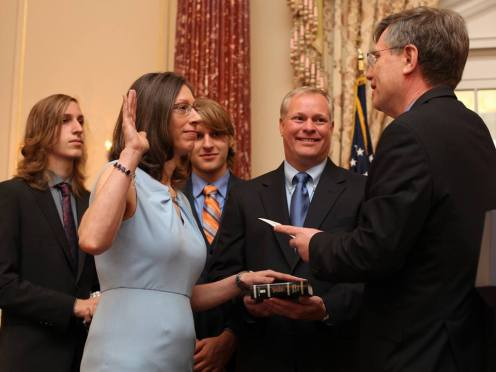 Alaina B. Teplitz Sworn In As The Next US Ambassador To Nepal