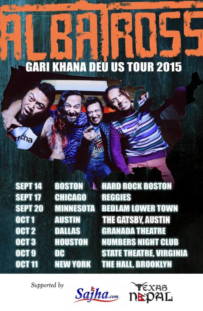 Albatross Gari Khana Deu US Tour 2015