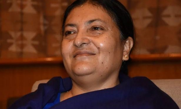 Bidhya Devi Bhandari Becomes Nepal's First Female President