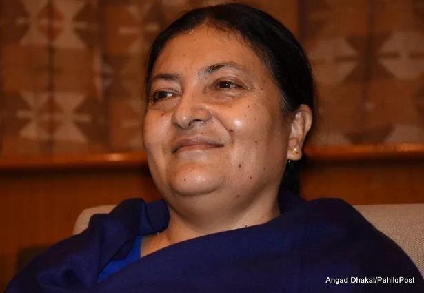 Nepal's Second President bidhya Bhandari