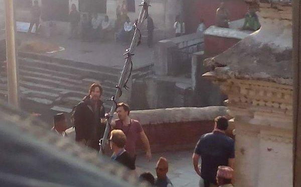 Holy Moly! Benedict Cumberbatch Is In Kathmandu!