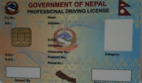 Smart license in Nepal