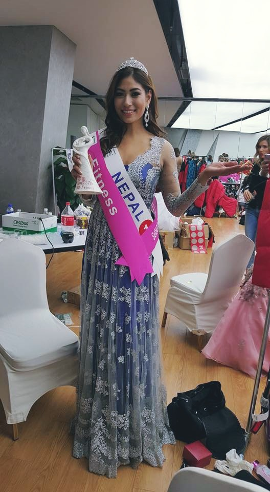 Nagma Shrestha places fourth at 27th World Miss University 2016