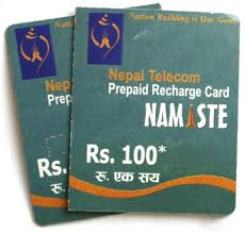 Rs 100 Nepal Telecom Recharge Cards Stolen And Deactivated