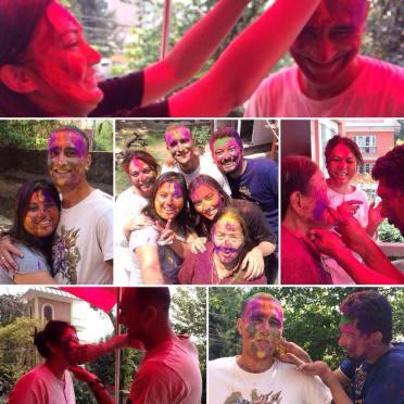 Celebration of Holi Today