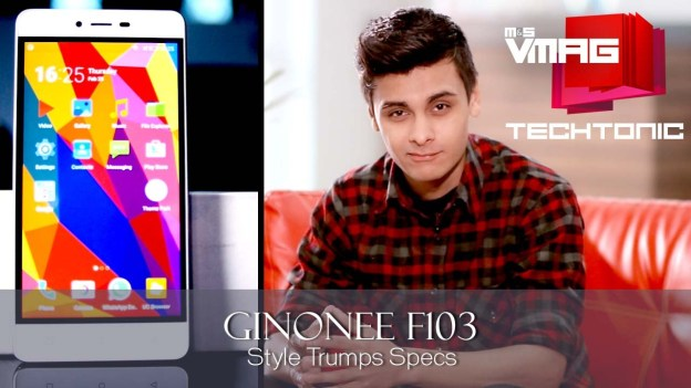 Gadget Review: Gionee F103 – Style Trumps Specs