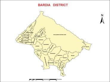 bardiya map