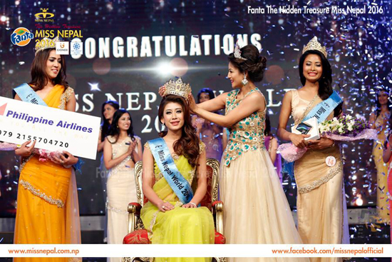 Asmee Shrestha Wins Miss Nepal 2016