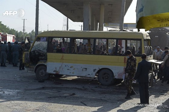 Taliban Suicide Bombing In Kabul Kills 14 Nepalese