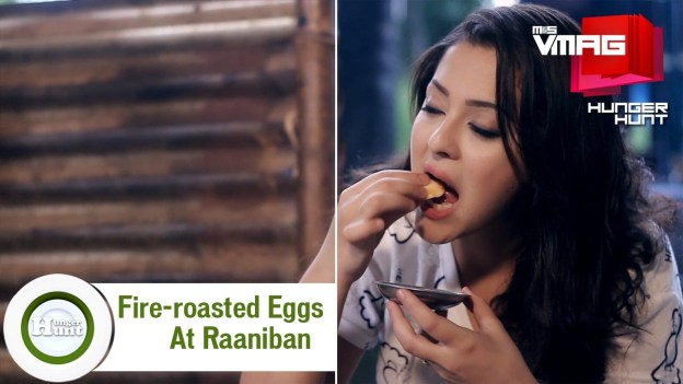 HUNGER HUNT: Fire-roasted Eggs at Raniban