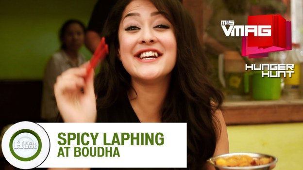 HUNGER HUNT:  Spicy Laphing at Boudha