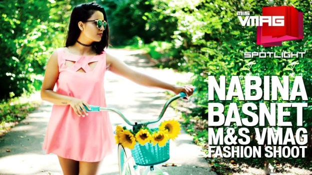 M&S SPOTLIGHT : Nabina Basnet Fashion Shoot