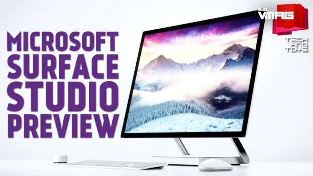 TECH & TOYS: Microsoft Surface Studio Preview
