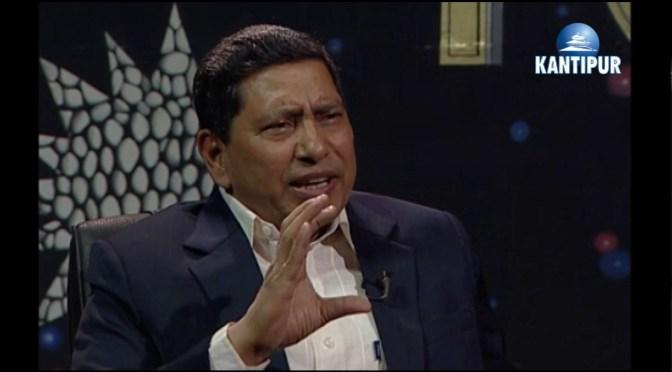 Tough Talk: नारायण काजी श्रेष्ठ – नेता, नेकपा माओवादी केन्द्र