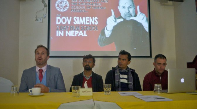 The Dov Simens 2 Day Film School Coming To Nepal