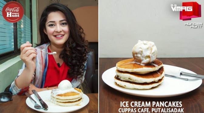 HUNGER HUNT: Ice cream Pancakes At Cuppas Cafe