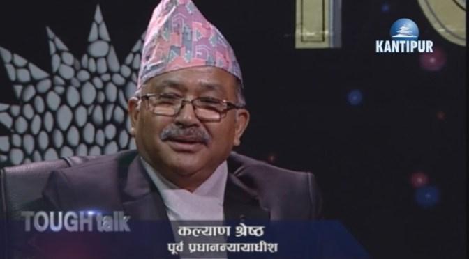 TOUGH TALK WITH Kalyan Shrestha