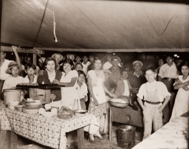 San Antonio chili queens stand 1930