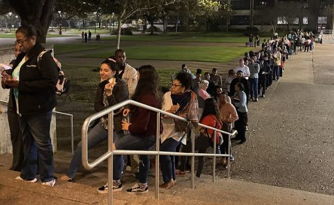Democratic Voters Surge in Texas Primary, Waiting in Long Lines as  Officials Struggle to Keep Up
