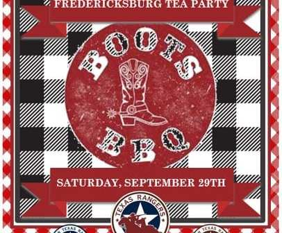 Will You Join Us in Fredericksburg on September 29?