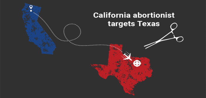 California abortionist travels to Texas, commits 50 abortions in 60 hours