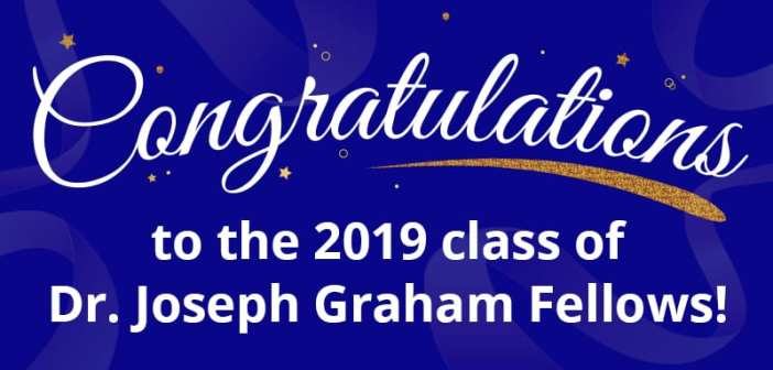 Texas Right to Life is proud to announce the class of 2019 Dr. Joseph Graham Fellows!