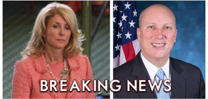 Wendy Davis announces bid to unseat Pro-Life Champion Chip Roy