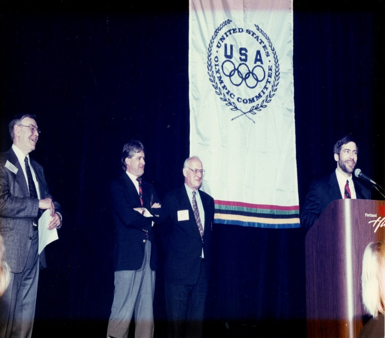 Bob Latham United States Olympic Committee