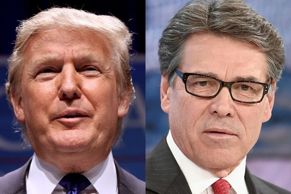 Perry's Back, and Now He's on Team Trump | Texas Standard