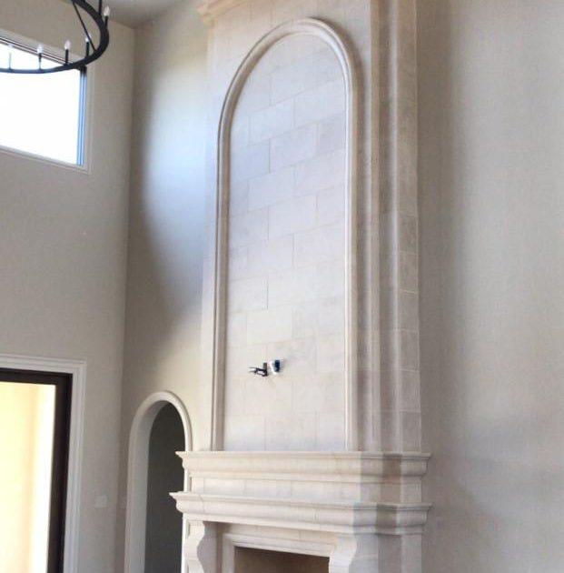 dallas fireplace stone