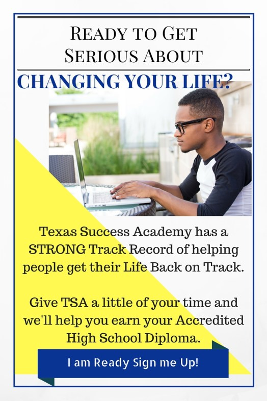 Get Readty to Change your life by earning your Accredited Online High School Diploma