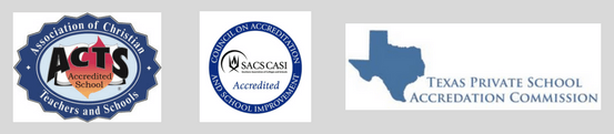 SACS CASI and Middle States Accreditation ensures credits will transfer to colleges and high schools.
