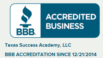 Texas Success Academy is an A plus accredited business