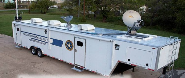 Mobile Command Center and Houston Security Cameras