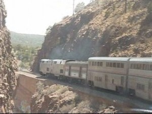 Westbound on the Southwest Chief