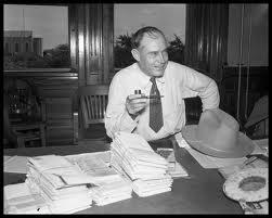 Former Texas Gov. Coke Stevenson