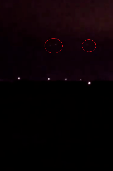 Mystery Craft Shown On Video Over Beaumont