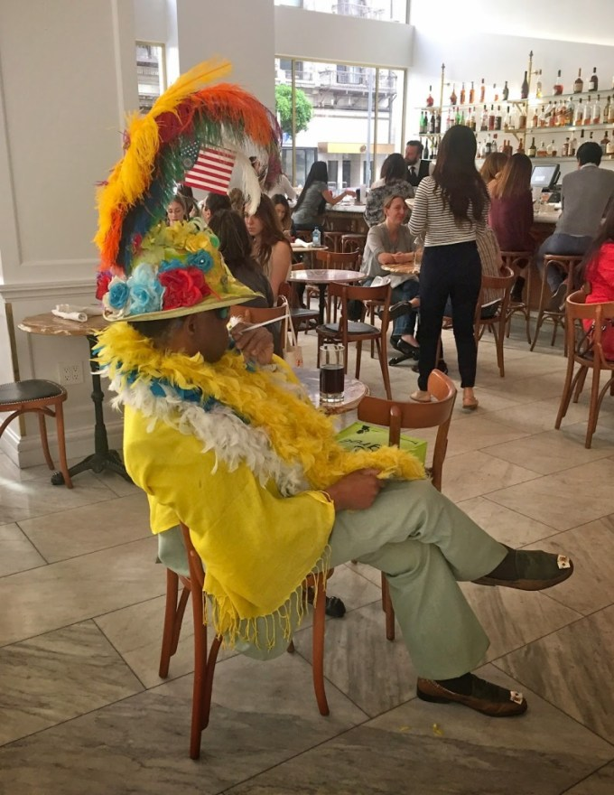 If you are lucky, you may bump into one of LA's colorful characters.