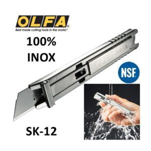 Cutter in Acciaio INOX Rilevabile