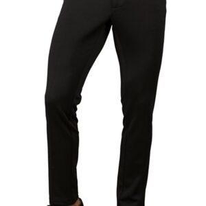 Pantalone Nero Yale Slim