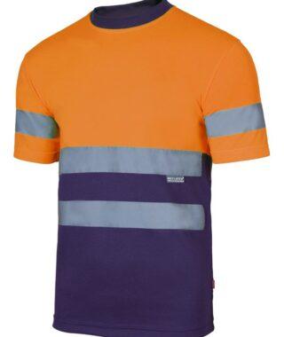 T-Shirt Alta Visibilità Bicolore