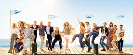 """""""Mamma Mia! Here we Go Again"""". Μη χάσετε, απόψε στις 21:30, το μεγάλο κινηματογραφικό γεγονός του καλοκαιριού, στο θερινό σινεμά του Τεχνόπολις!"""