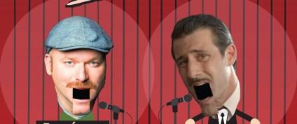 Stand Up Comedy Λευτέρης Ελευθερίου και Αντώνης Κρόμπας το Σάββατο 16 Μαρτίου στο Cine Studio
