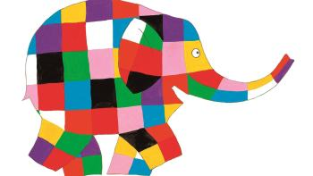 """Παιδική παράσταση """" Ελμέρ ο Παρδαλός Ελέφαντας"""" Κυριακή 22 Αυγούστου στο Θέατρο Τεχνόπολις"""