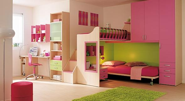 Ιδεές για ροζ κοριτσίστικα δωμάτια